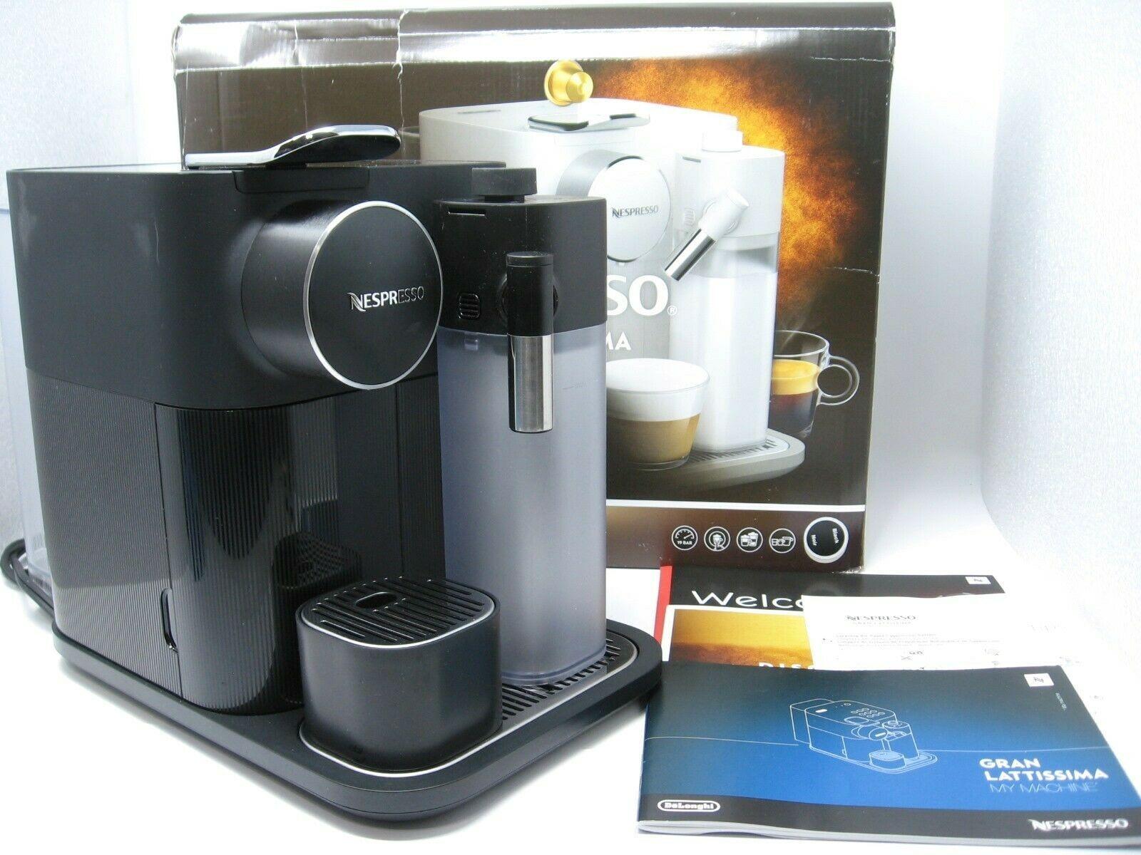 Nespresso Delonghi GRAN Lattissima Black EN650B Touch