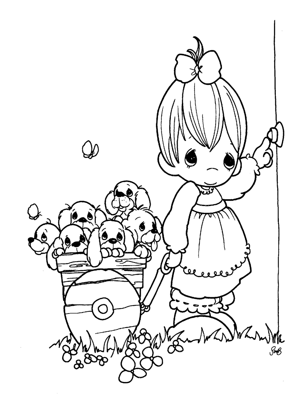 precious moments birthday coloring page - Bing Images | presious ...