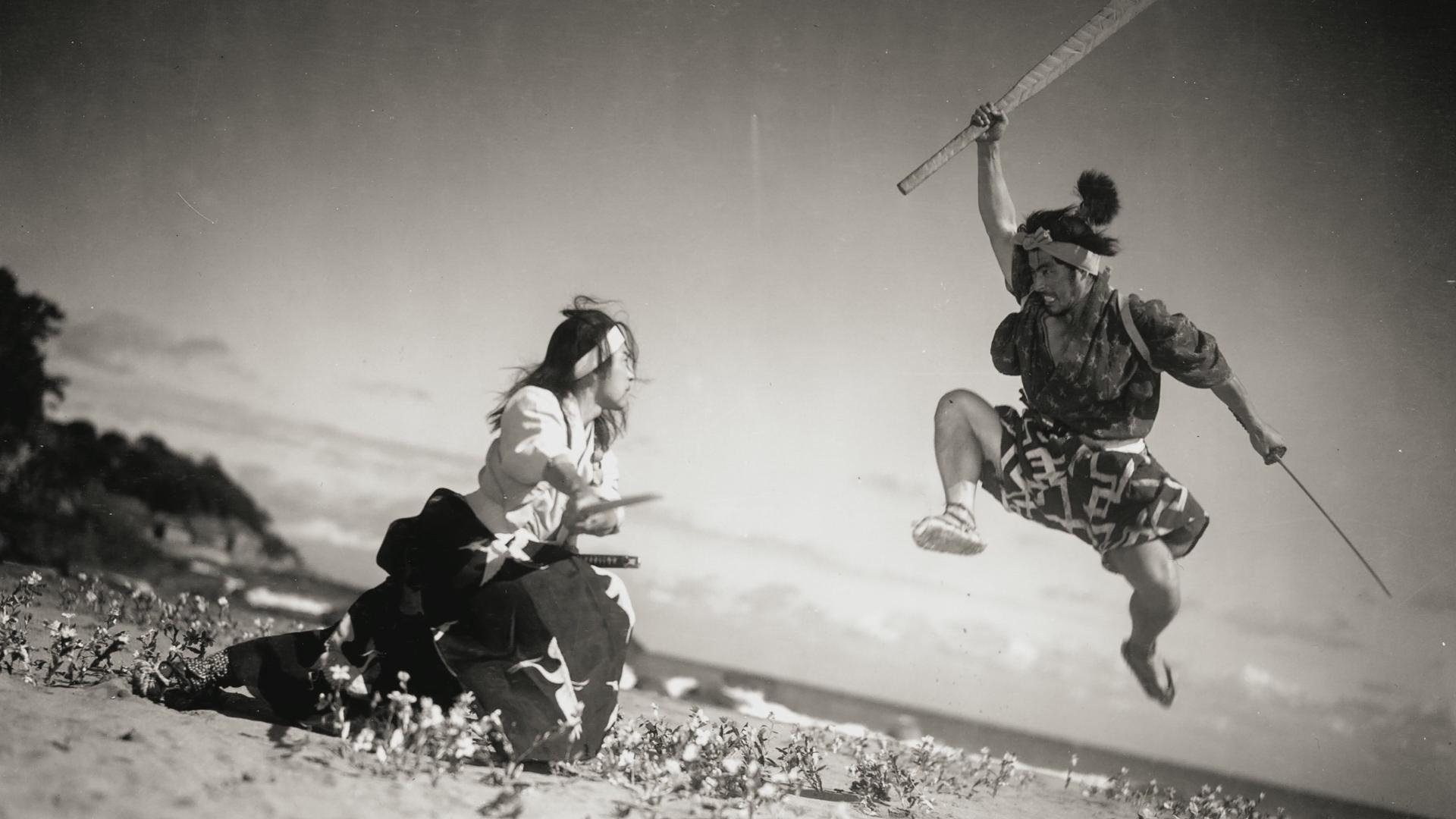 Toshiro Mifune Samurai III Duel at Ganryu Island (1956