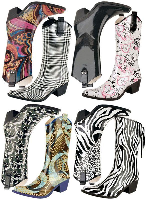 Cowboy Rain Boots For Heavy Rain Days