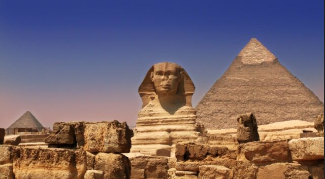 The pyramids and sphinx, and valley of the kings and queens, and scuba dive in the Red Sea - Egypt