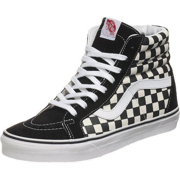 Vans X Bones Brigade Sk8 Hi Shoes Checkers 40 Liked On