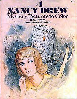nancy drew coloring book surprised i didnt have this - Nancy Drew Coloring Pages