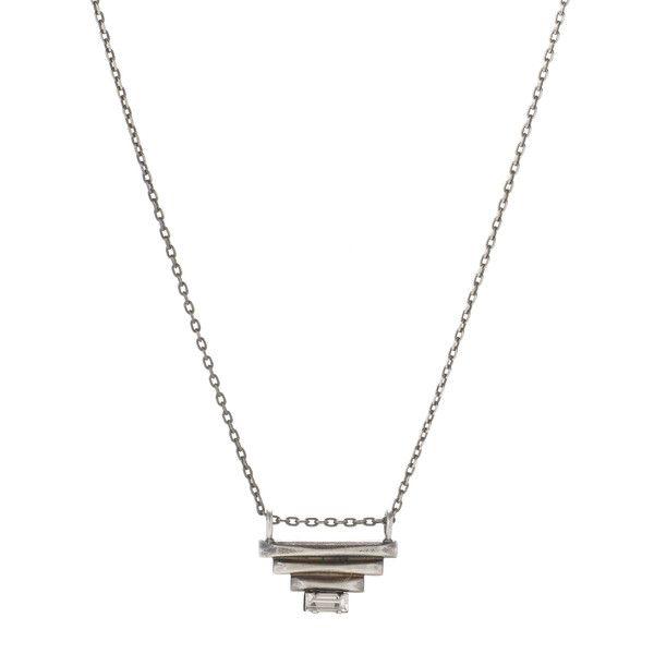 Sacred Pyramid Pendant / Silver
