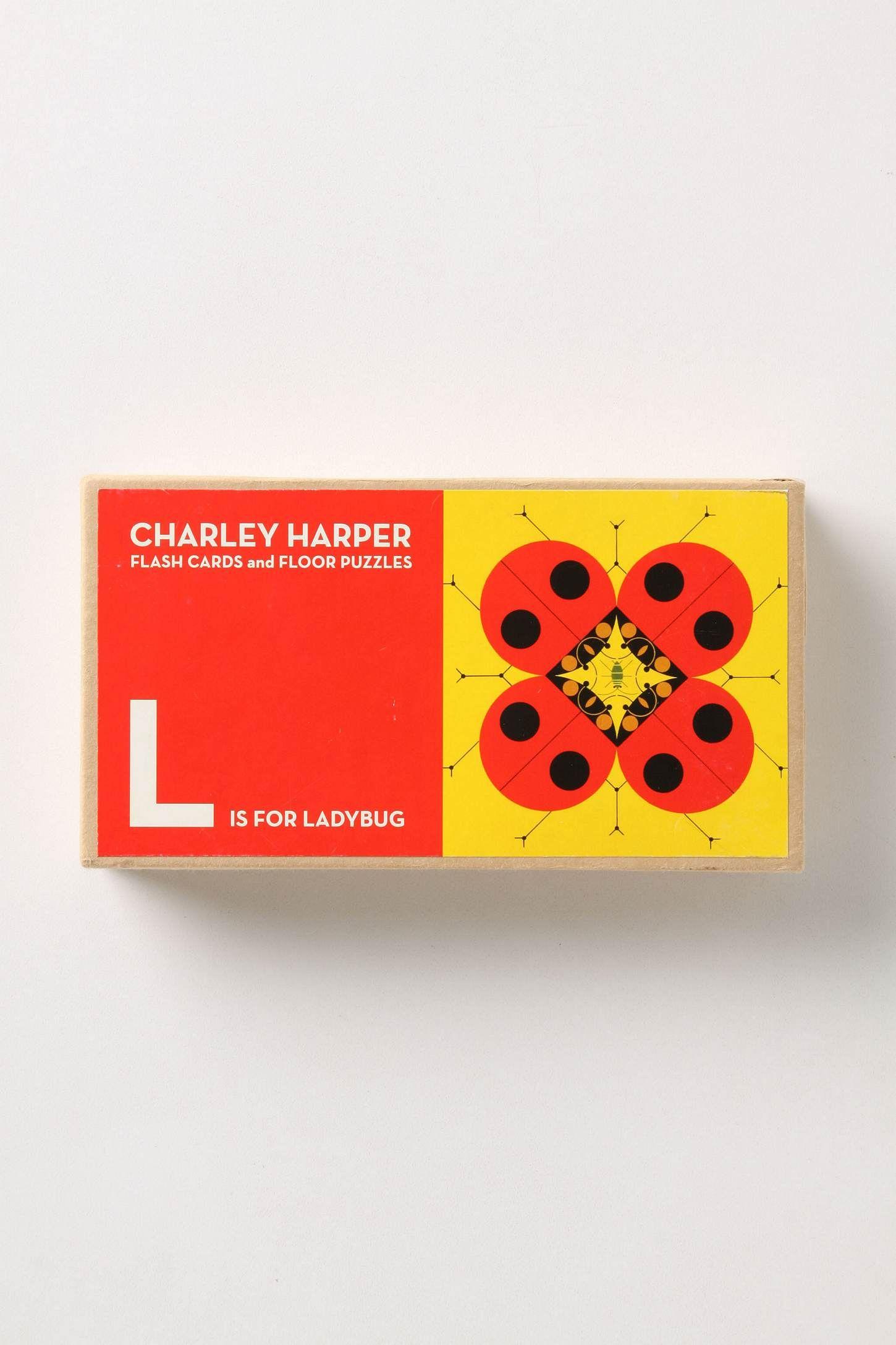charley harper flash cards