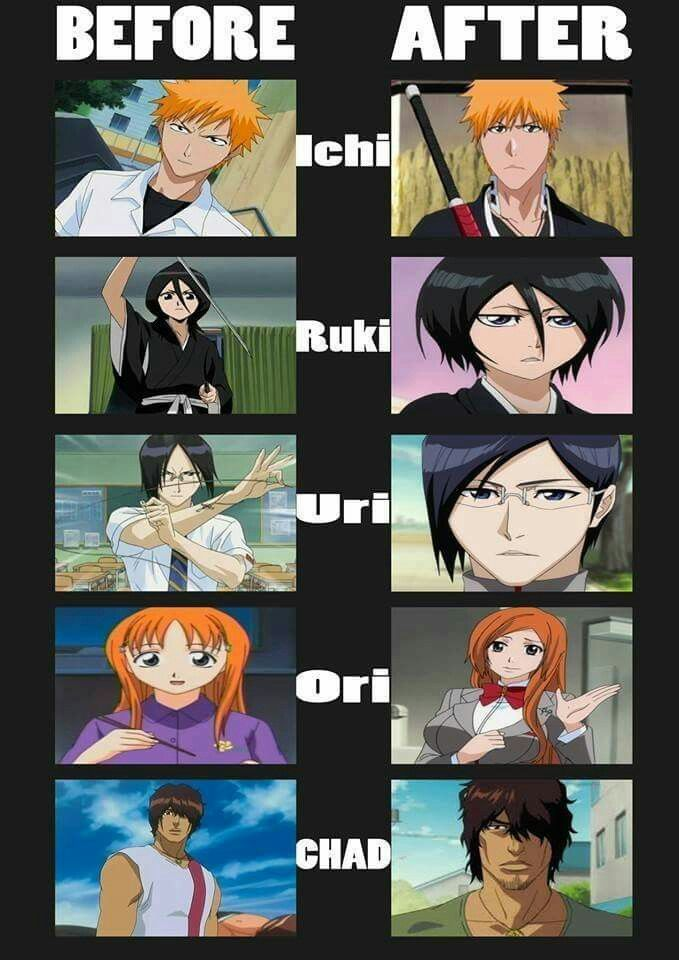 Bleach Characters Before And After