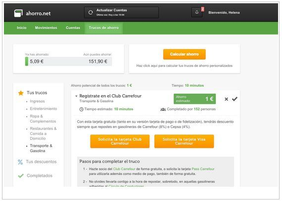 Ahorro.NET – la mejor herramienta para controlar tus finanzas