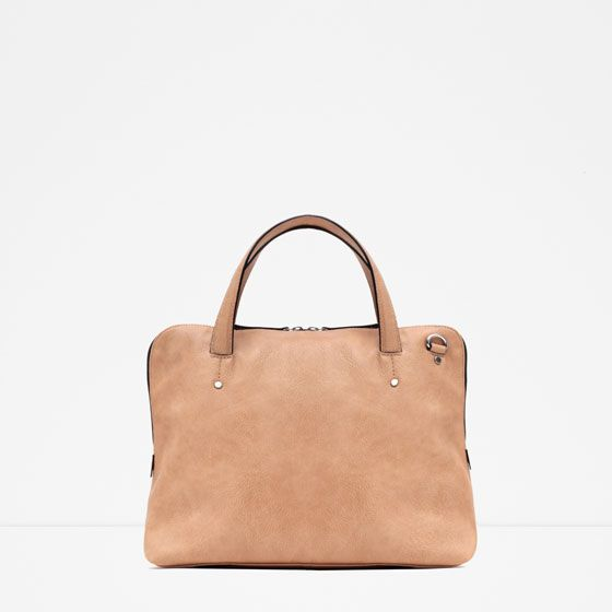 ZARA - TRF - SOFT CITY BAG