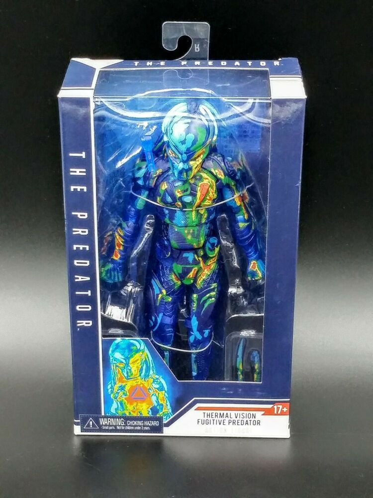 "NECA Predator Thermal Vision Fugitive 7/"" Action Figure Target Exclusive NEW"
