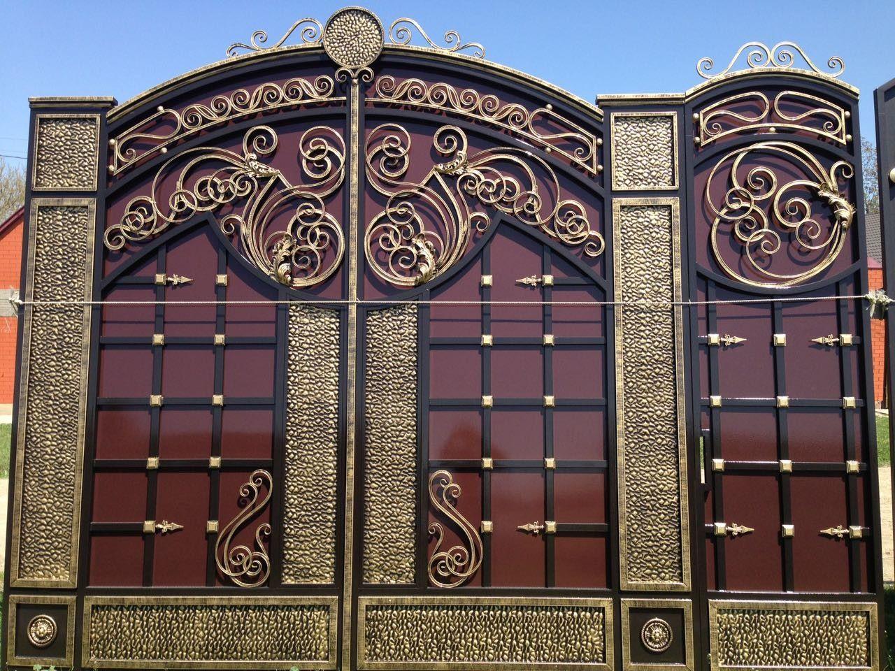 дополнение постояному ворота кованые картинки грозном уже публиковали