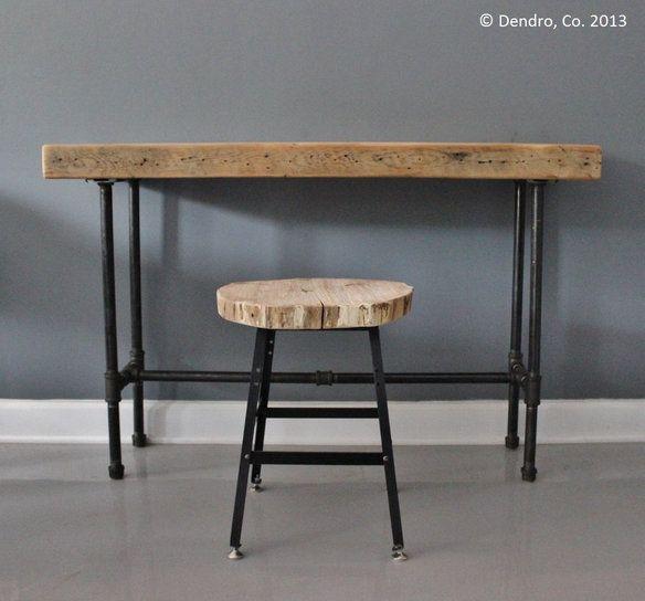 Loading Needed Things Reclaimed Wood Desk Industrial
