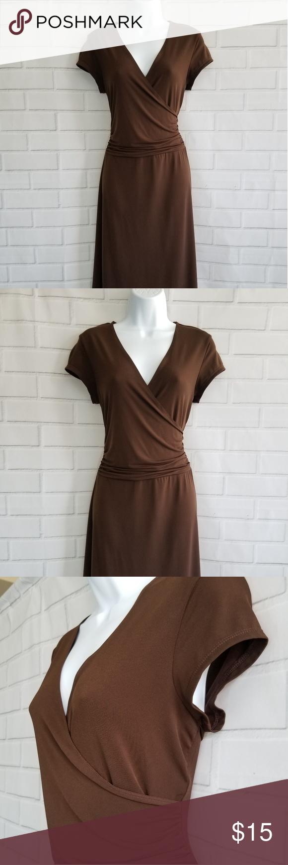 Merona dark brown dress en my posh picks pinterest
