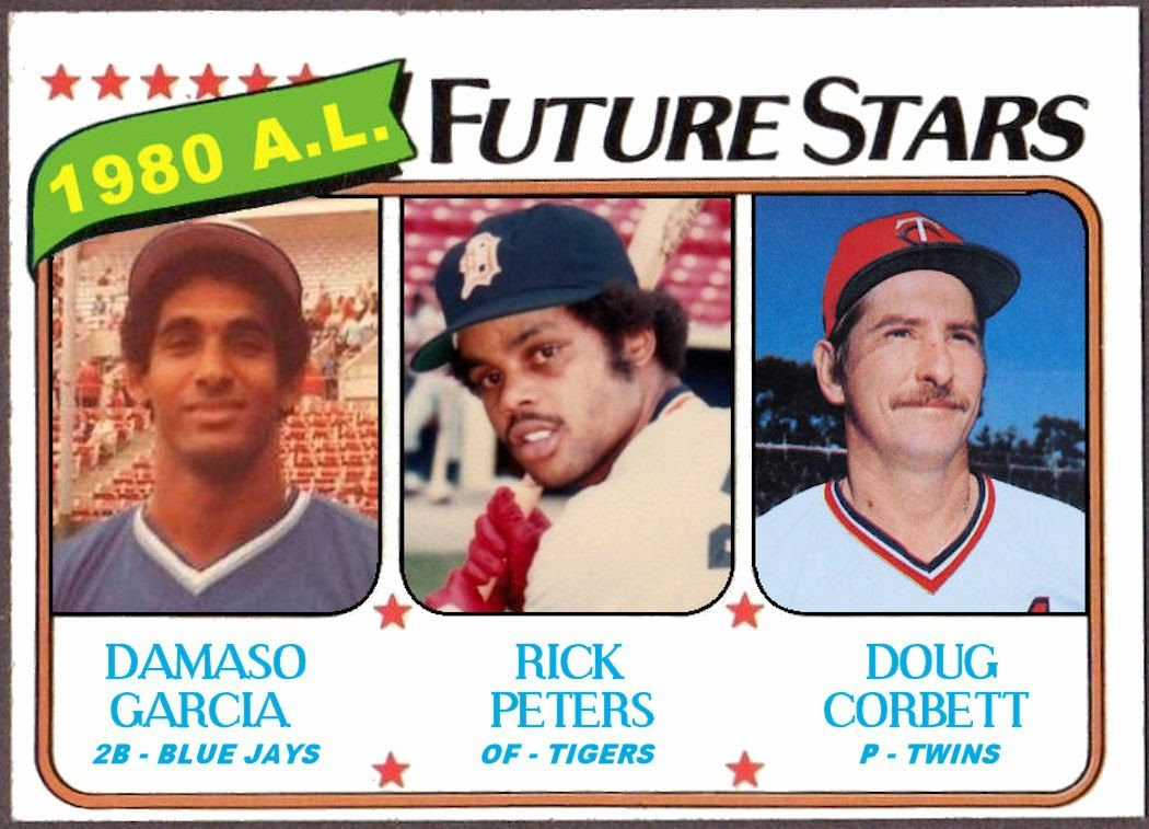 1980 topps al future stars damaso garcia rick peters