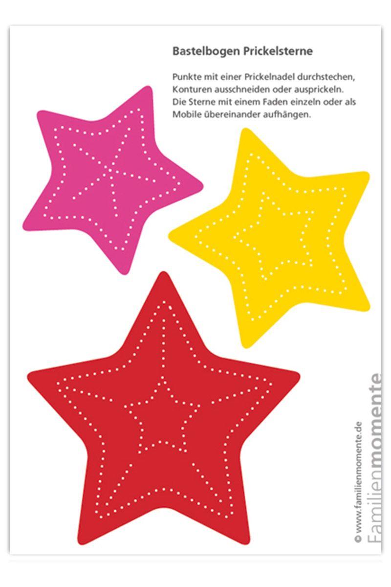 Prickelmobile Sterne