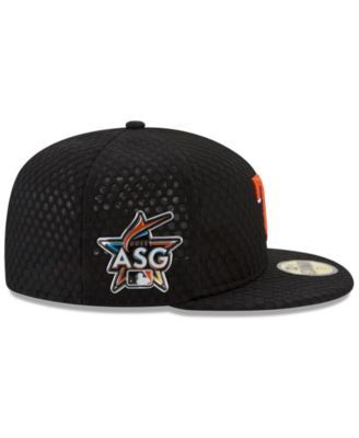 separation shoes a94a9 0f7bc New Era Texas Rangers 2017 All Star Game Home Run Derby Patch 59FIFTY Fitted  Cap - Black 7 1 8