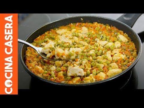 Arroz Con Pollo Receta Fácil Cocina Casera Com Arroz Con Pollo Recetas De Pollo Faciles Pollo Fácil