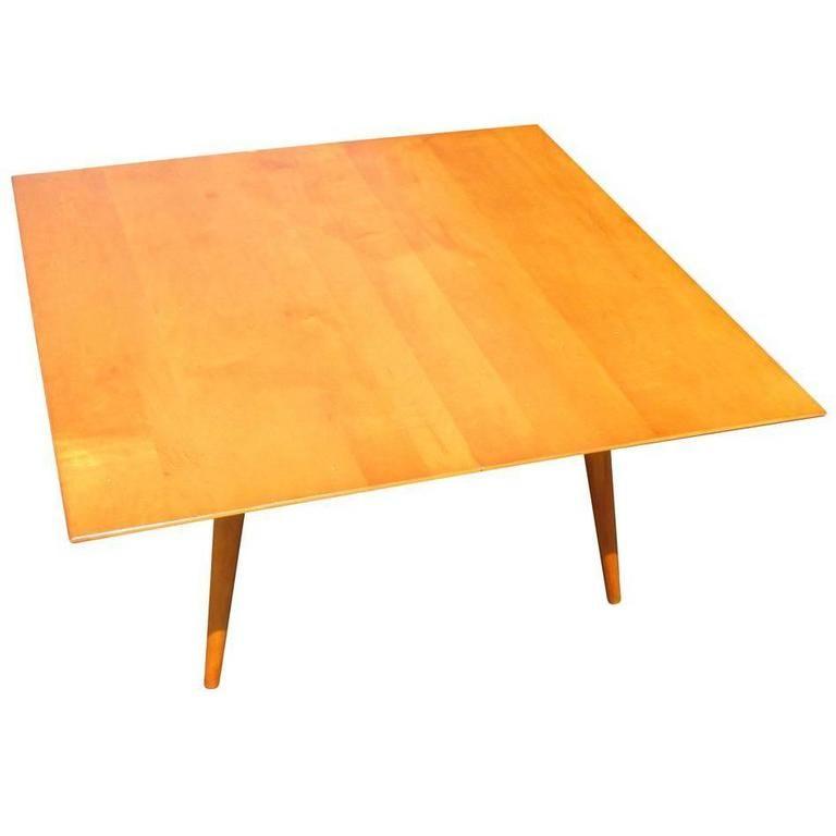vintage midcentury paul mccobb planner group side coffee table