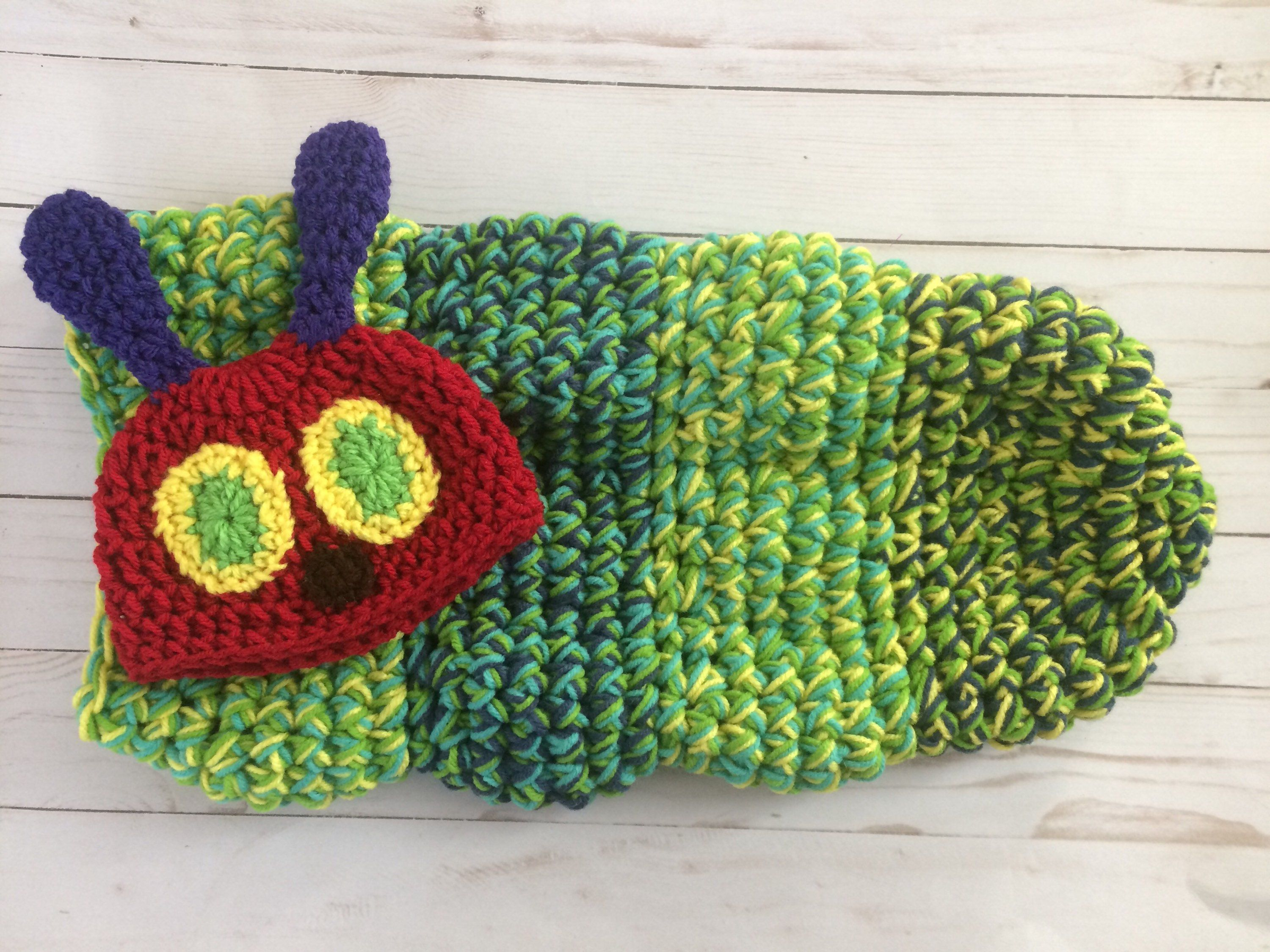 Funky Hungry Caterpillar Baby Knitting Pattern Photos - Blanket ...