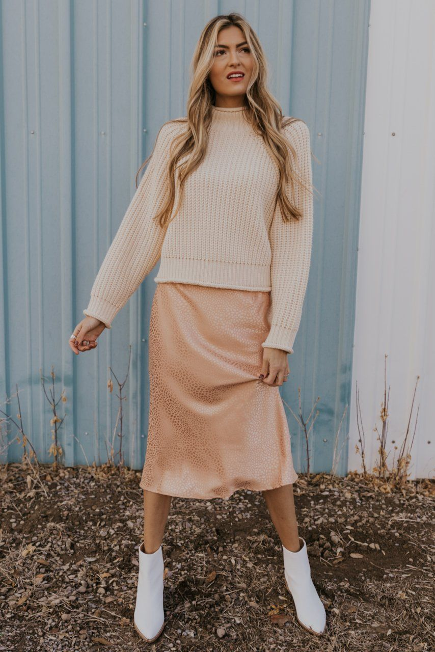 Happy Go Lucky Midi Skirt Silk Dresses Outfit Midi Skirt Outfit Midi Skirt [ 1280 x 854 Pixel ]