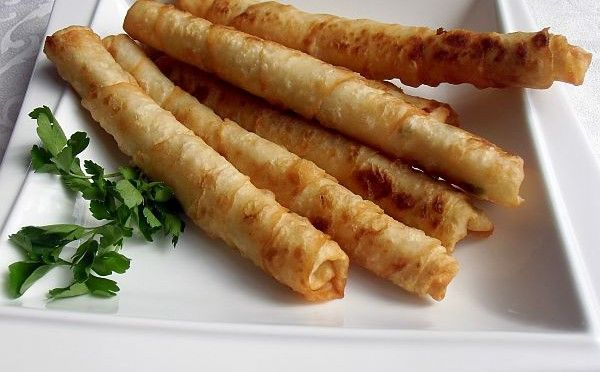 Zigarren Börek 4 Stück frische Yufka (türkischer Blätterteig), 250 - türkische küche rezepte