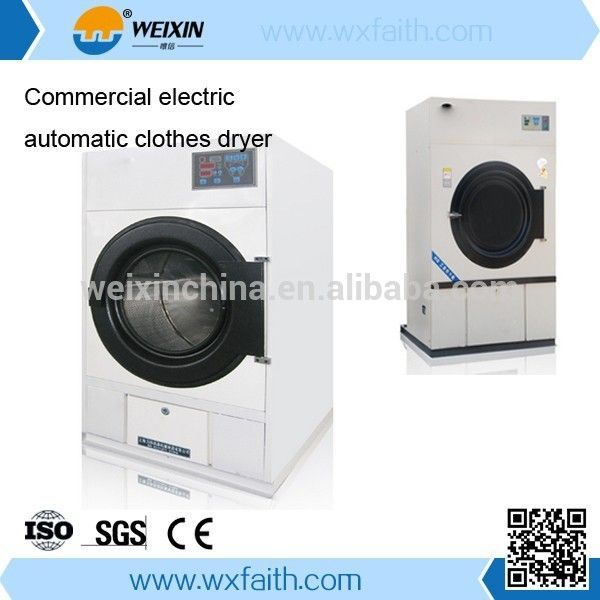 Full Automatic Industrial Dryer Machine Tumble Dryer Laundry