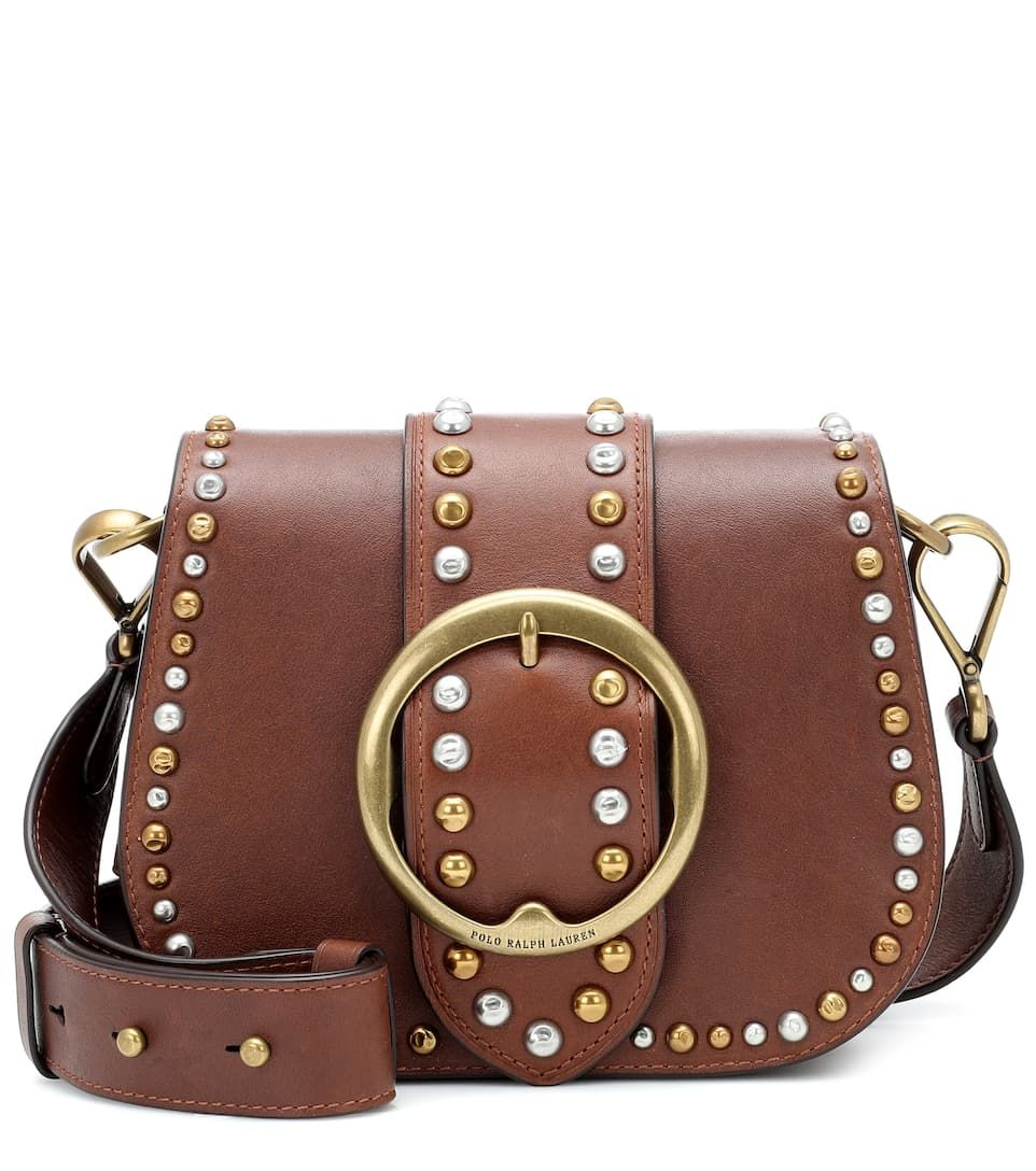 bcd286fa POLO RALPH LAUREN | Lennox Leather Crossbody Bag - Saddle | $ 299 ...