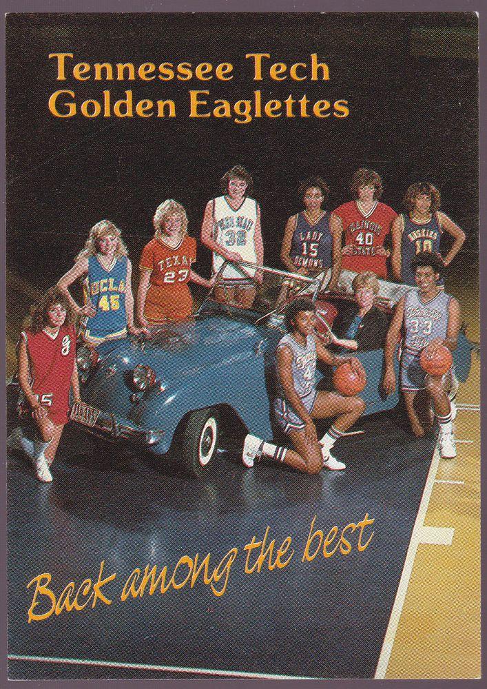198586 TENNESSEE TECH GOLDEN EAGLETTE WOMENS BASKETBALL