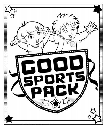 This activity pack lets kids color while learning about