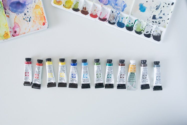 Which Watercolor Paints And Colors To Buy Watercolor Color
