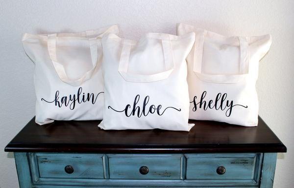 Affordable Bridesmaid Gifts | Bridesmaid Tote Bridesmaid Gift Idea Bridesmaid Proposal Idea