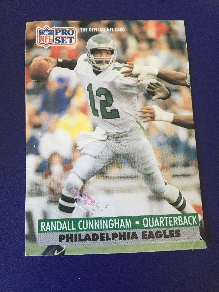 1991 Pro Set Randall Cunningham Card 256 Cards