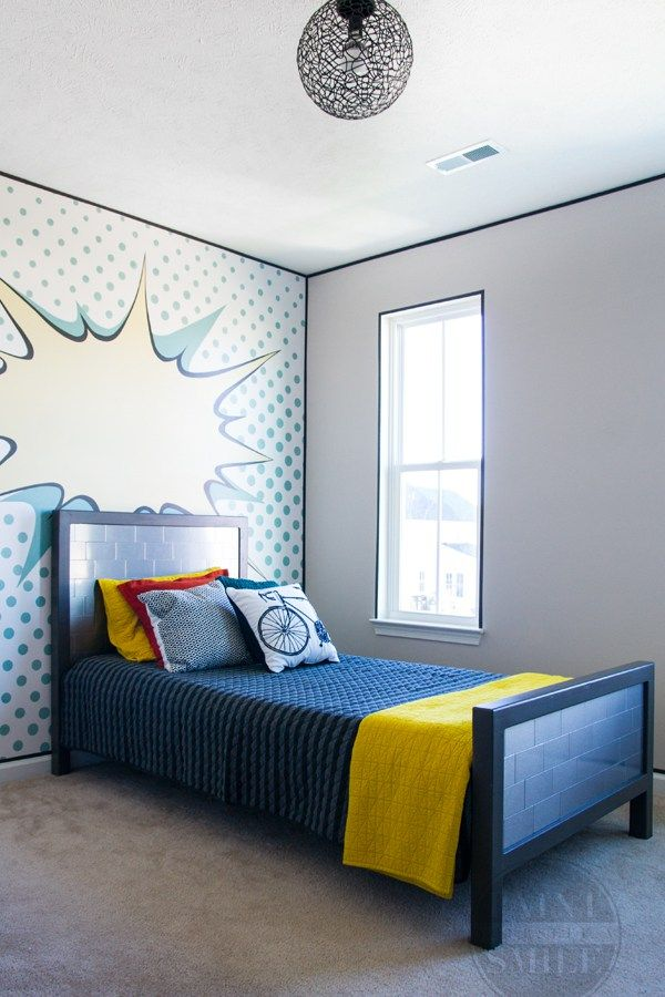 Pop Art Bedroom Make Over Reveal | Art themes, Bedrooms and Walls