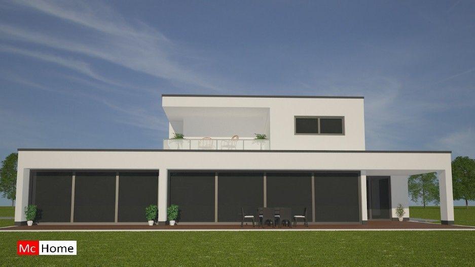 Mc home m eigentijdse villa gelijksvloers met groot overdekt