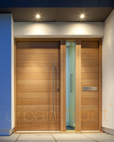 haust r mit querfugen und seitenteil puerta pinterest haust r eingangst r und t ren. Black Bedroom Furniture Sets. Home Design Ideas