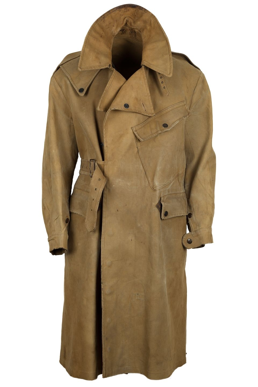 WW2 German later Motorcyclist rubberlized raincoat L