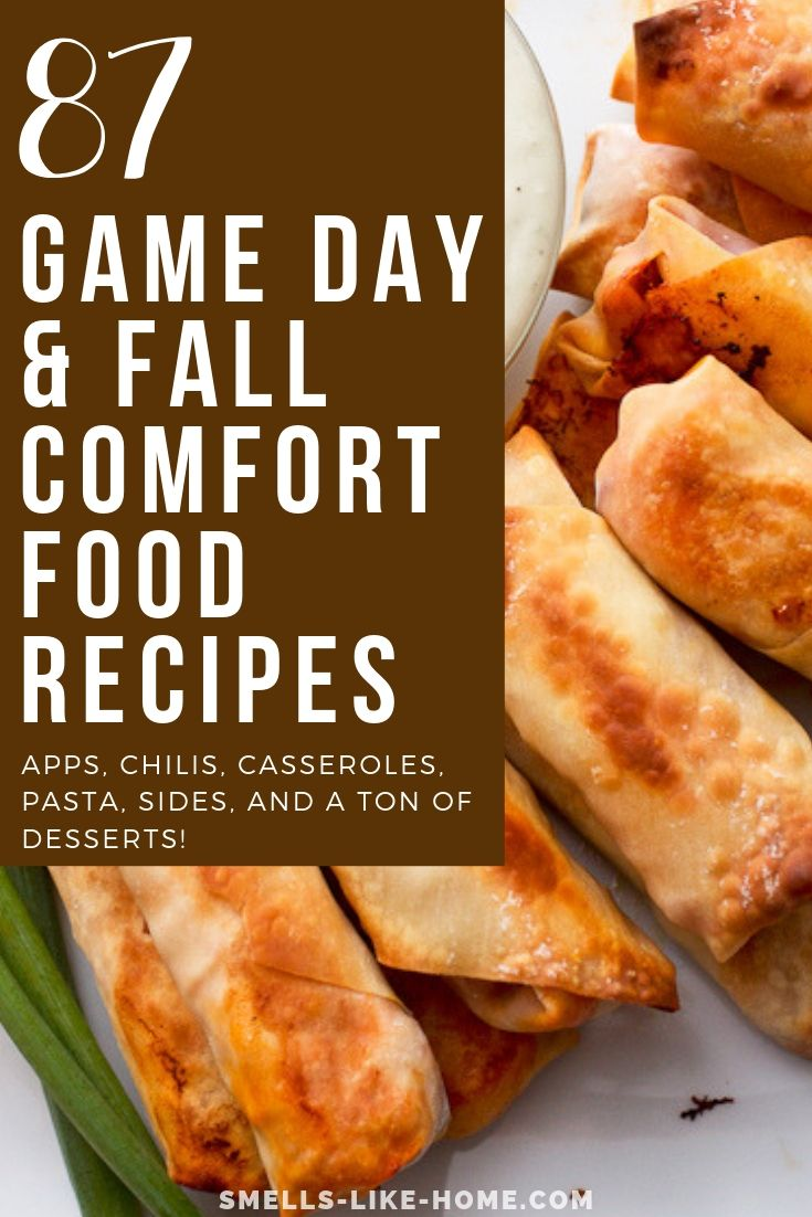 The Ultimate List of Game Day & Fall Comfort Food Recipes