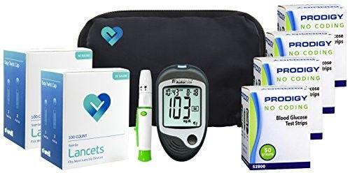 Prodigy AutoCode Diabetes Testing Kit, with Talking Meter (1