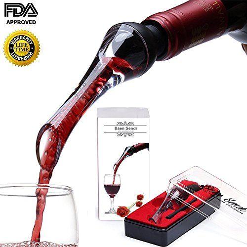 Baen Sendi Wine Aerator Pourer Aerating Wine Pourer Premium Wine