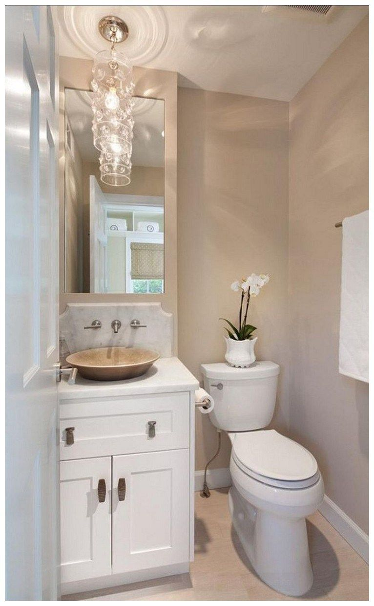 44 Tips And Ideas How To Make A Small Bathroom Look Bigger Bathroomremodel Smallbathroom T Small Bathroom Paint Small Bathroom Colors Bathroom Color Schemes
