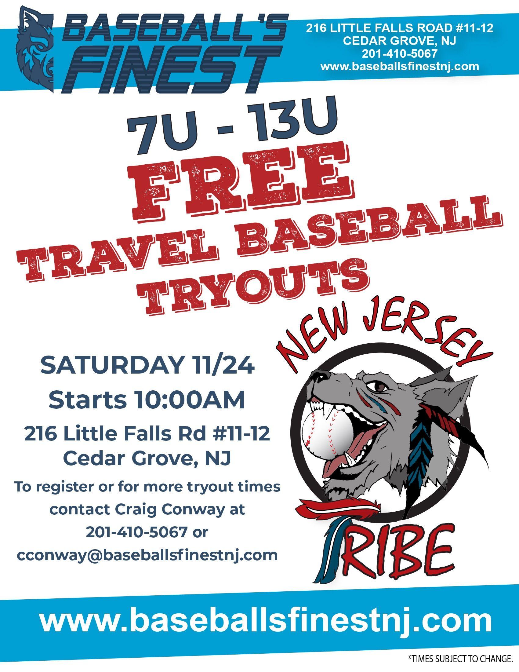 Baseball S Finest Nj Travel Baseball Baseball New Jersey