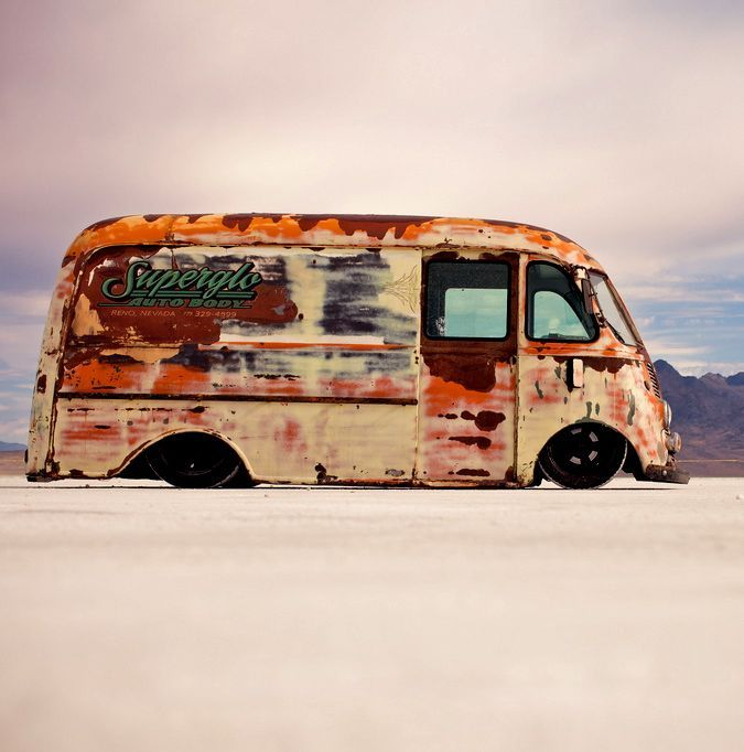 Ih Metro Http Rusttee Tumblr Com With Images Hot Rods Cars Muscle Rat Rod Step Van