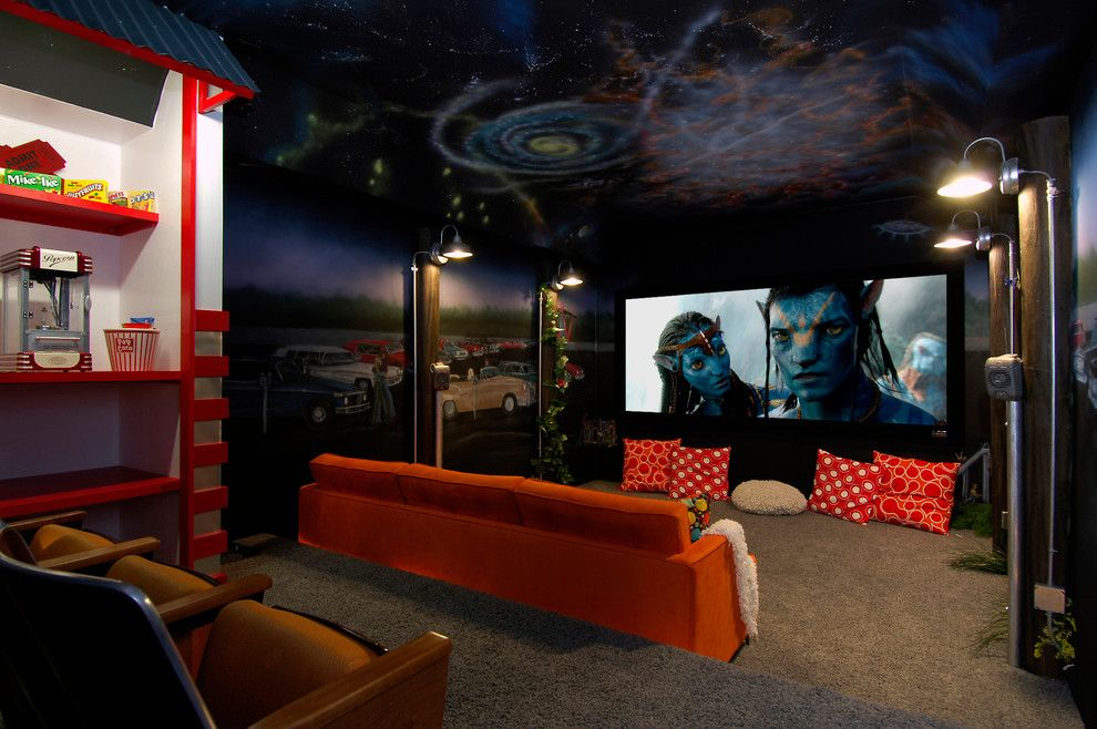 movie theater wall mural | Glorious Movie Theatre ...