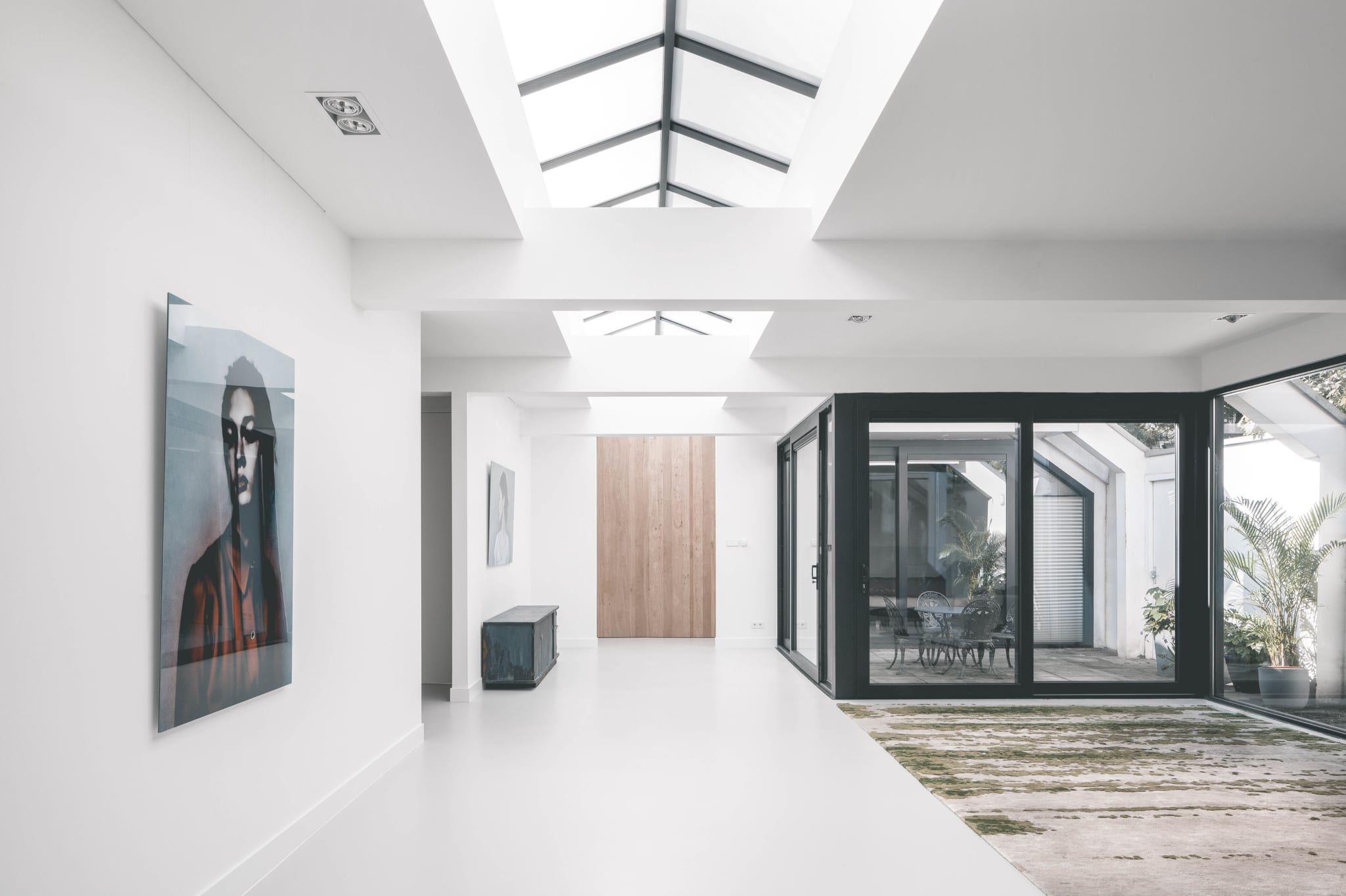Van Garage Tot Woning Droomhuis In De Pijp Architecture House