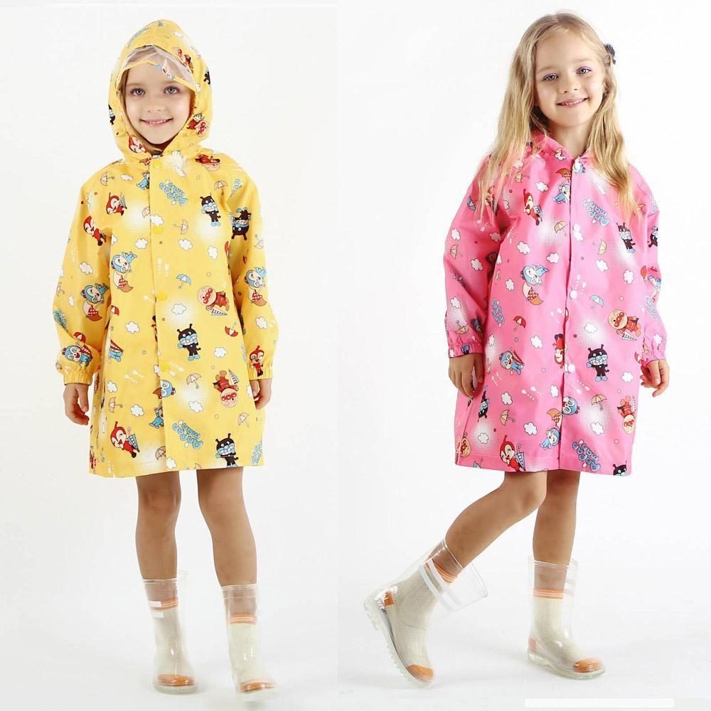 Cute Baby Raincoat Kids Outdoor Waterproof Yellow Rain Coat Children Impermeable Poncho Boys Girls Rain J Raincoat Kids Childrens Rain Coats Girls Rain Jackets