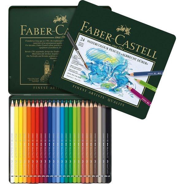 Details About Faber Castell Albrecht Durer Watercolor Pencil Tin