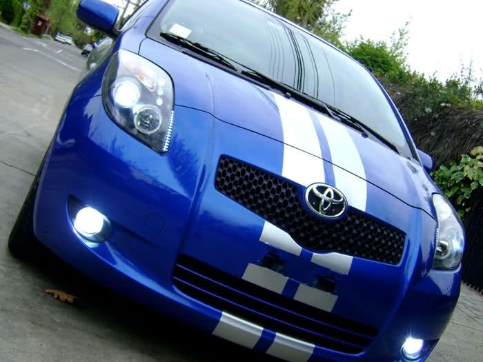 Some Go-faster Stripes For My Yaris Would Be Awesome