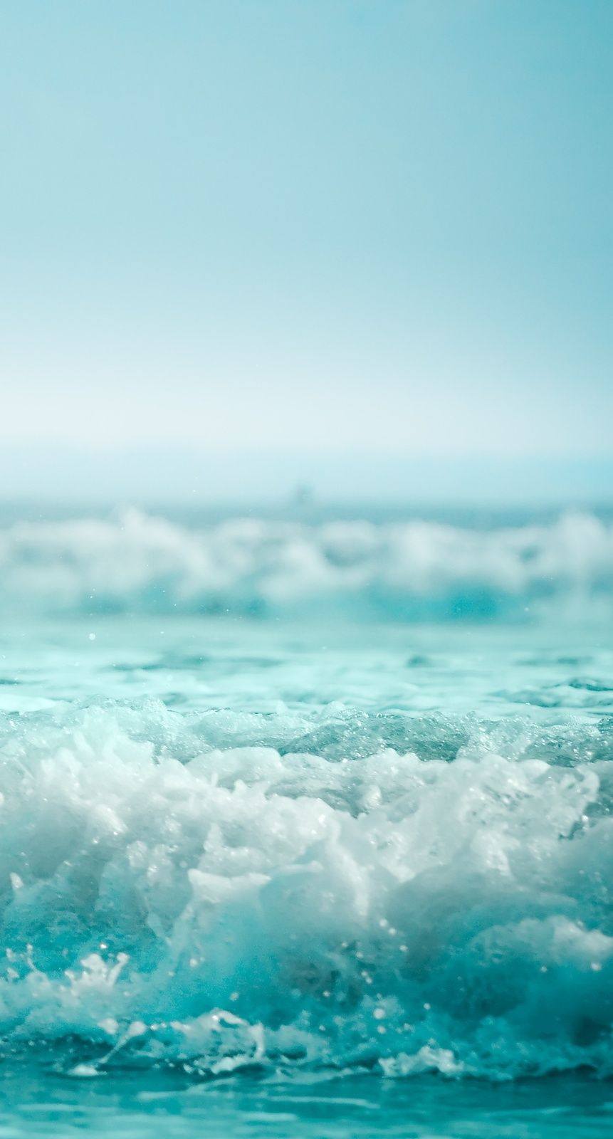Blue Summer Ocean Wallpaper Sea Waves Ocean