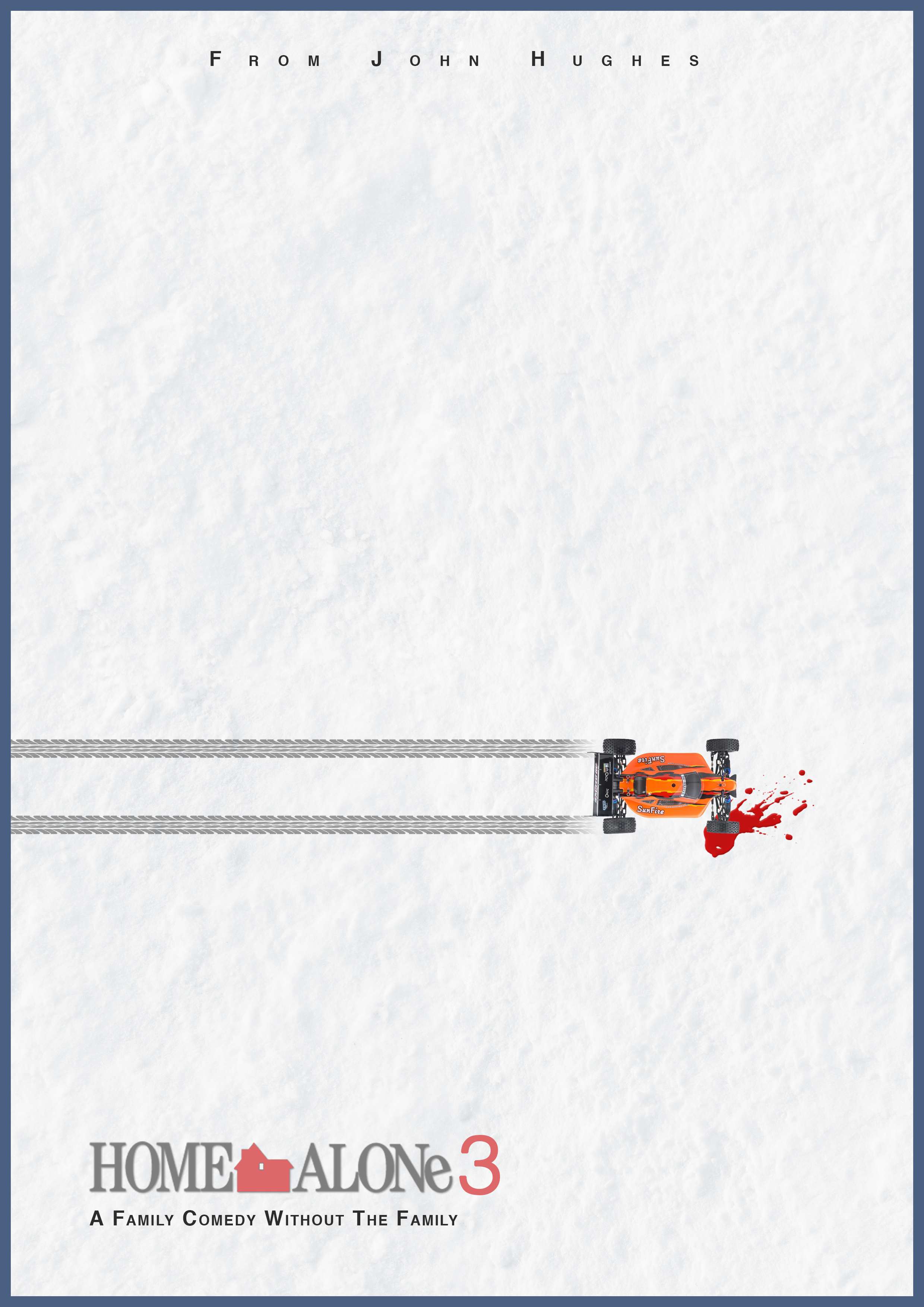 Minimal Poster For Home Alone 3 Home Alone 3 Minimal Poster Minimal Movie Posters