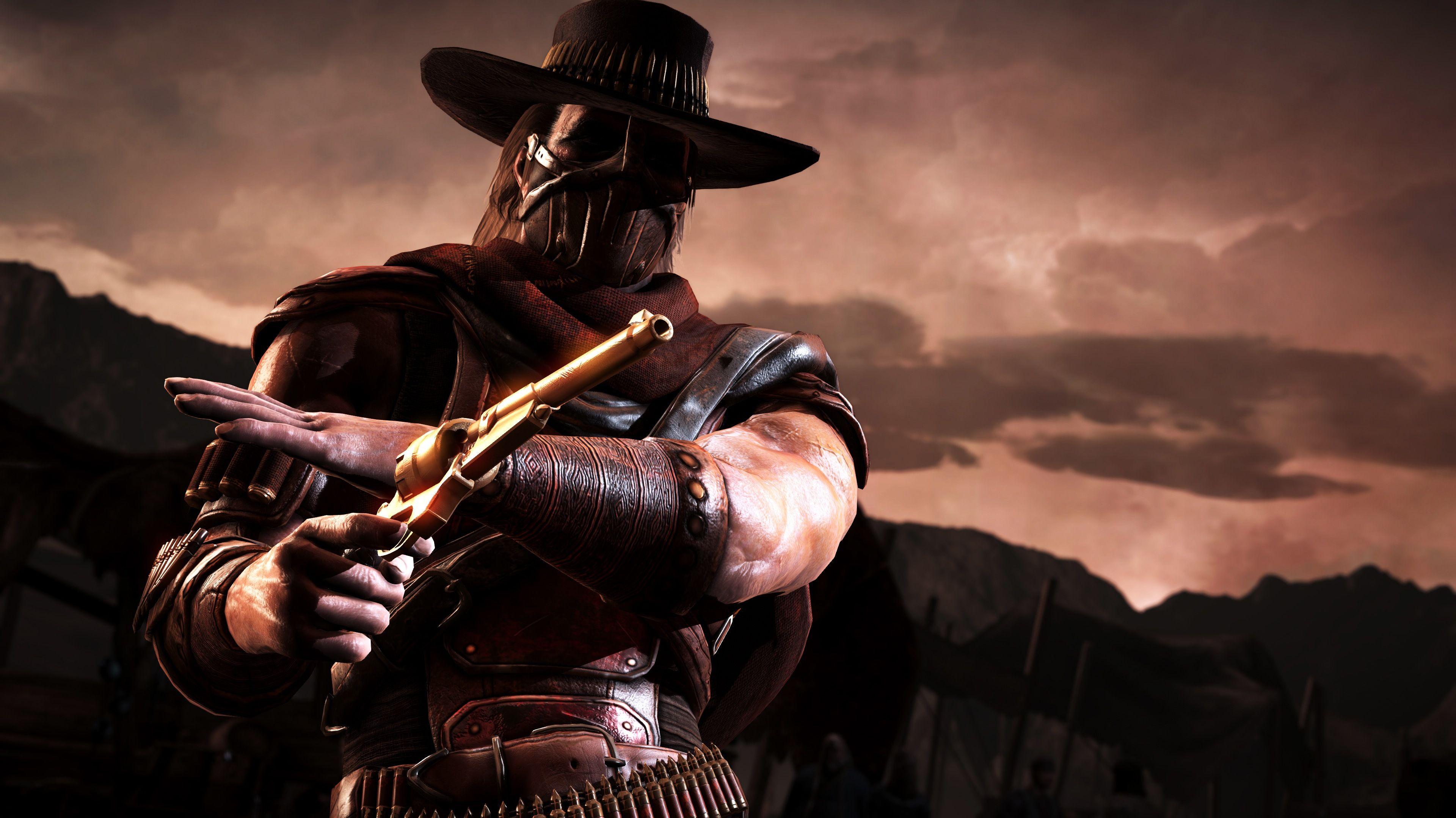 Erron Black Mortal Kombat X Mortal Kombat Scorpion Mortal Kombat