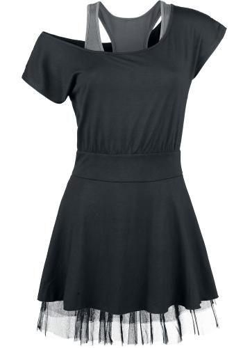 Net Lace Dress - Black Premium by EMP Kurzes Kleid   SCENE CLOTHES ... 7d8ec82dd7